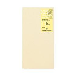 트래블러스노트 오리지널 리필 - MD Paper Cream