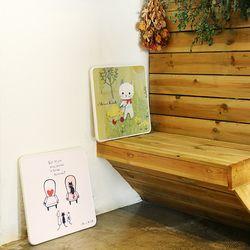 신지가토 세이프티 밥상 공부상 접이식 테이블 (400x400)