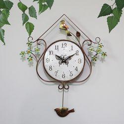 새와꽃 동브론즈 추벽시계 SBC-307
