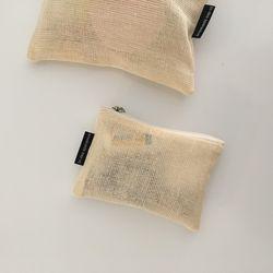 에코 메쉬 파우치(Eco mesh pouch)-small