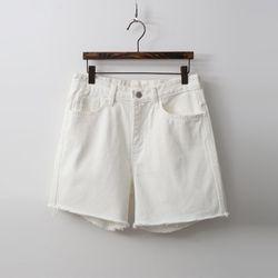 Le Brigette Denim Shorts