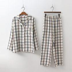 Mono Pajamas Set - 커플룩