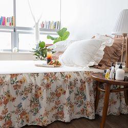 엘리자벳아이보리Q 퀸 매트리스스커트 침대스커트 침대치마