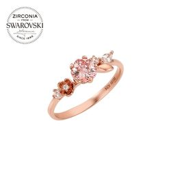 [다즐링 블로썸] 로맨틱 블로썸 반지 RLKS4101