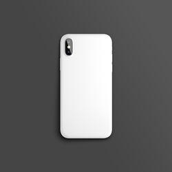 컬러 컬렉션 화이트 슬라이드 아이폰케이스