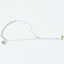 [Silver 92.5] mix chain bracelet