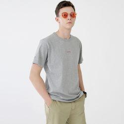 스탠시 3707-미니 로고(멜란지그레이)티셔츠