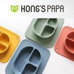 홍스파파 플래티넘 실리콘 판다 흡착식판