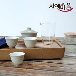 D4 덕화자기 개완 다기세트 운회여행 G16-3