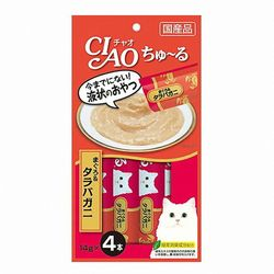 p)이나바 챠오 츄르 (참치+게맛살) 14gx4p