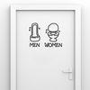 포인트 화장실스티커 즐거운화장실