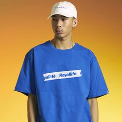 RL445 로얄라이프 테이핑 로고  반팔 티셔츠 - 3컬러