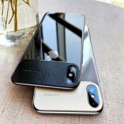 아이폰 XR XS MAX 7 8플러스 슬림 컬러 반투명 케이스