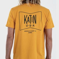 [케이튼]그루비 티셔츠 - 골드