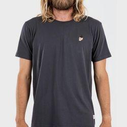 [케이튼]스컬 캑터스 티셔츠 - 그래파이트