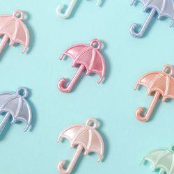 펄파스텔 우산 컬러비즈 공예재료