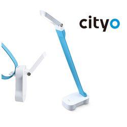 씨티오 밴디 LED 휴대용 스탠드 블루 학생용 사무용