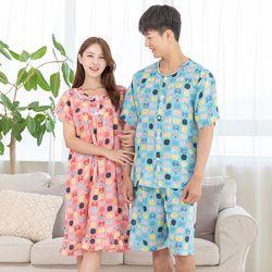 모링모링 레이온 드레스