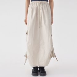pocket string mood skirt