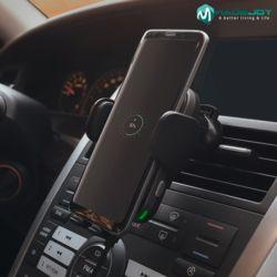 차량용 고속 자동 무선 휴대폰 핸드폰 충전기 거치대