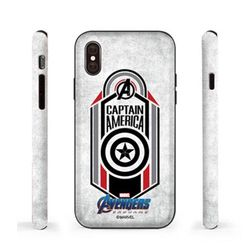 [T]마블 엔드게임 엠블럼 더블범퍼.아이폰6(s)플러스