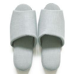 mint linen slipper