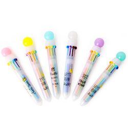유니콘이 놓고 간 10색 볼펜