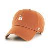 47브랜드 MLB모자 엘에이 다저스 버번트 오렌지 화이트미니로고