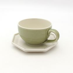 NEMO 달소금 예쁜잔 도자기 마블 카페 커피잔세트-마블그린