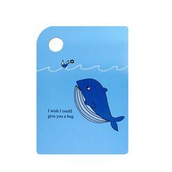 캐슬 셀프인테리어 나무도마 대 고래
