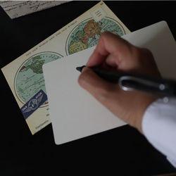 Cavallini 빈티지엽서카드-map