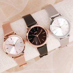베이직 여성 메쉬 시계 3colors(AG2G9807MR)