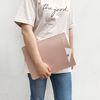 LG 그램 13 14 15 17 인치 노트북 파우치 케이스 가방 핑크
