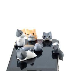 니코니코 고양이 이어캡