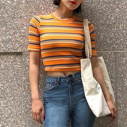 [로코식스] 니모 크롭 티셔츠