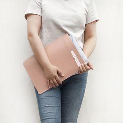 LG그램 15인치 ZD 970 980 990 노트북 파우치 케이스 가방 핑크
