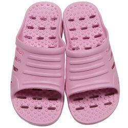 EVA 지압 욕실화 핑크