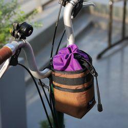 한강 스템백 브롬톤 자전거 핸들 및 안장 가방