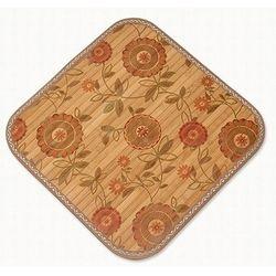 시원한 대나무 국화무늬 여름방석 사이즈 약 45x45cm