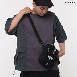 [GEOX] 3MM CROSSBAG BLACK 3MM크로스백 블랙
