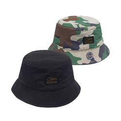 STGM REVERSIBLE BUCKET CAP BLACK