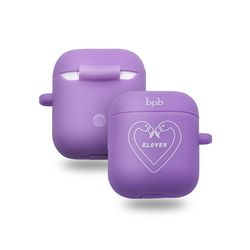 Klover air pod caselight purple 에어팟케이스