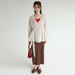 oriental mood lap blouse (3colors)