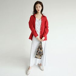 clean fit linen pocket shirts (3colors)