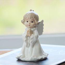 세라믹 기도하는 천사