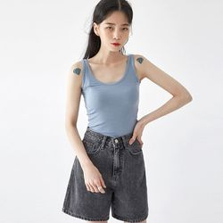 a tell line sleeveless