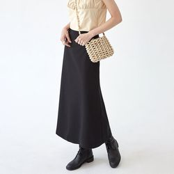 daisy flare long skirt