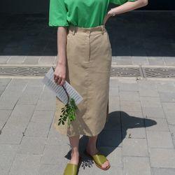 Fresh linen skirt(린넨50)