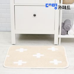 대명카페트 크로스 베이지 발매트 50X70++3개+