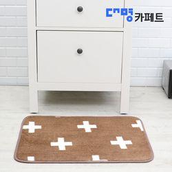 대명카페트 크로스 코코아 발매트 50X70++3개+